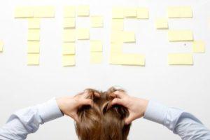 Stress ist eine Ursache für Gewichtszunahme